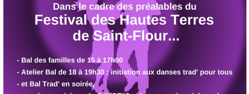 Préalables du Festival des Hautes Terres – Paulhac, Samedi 25 mai